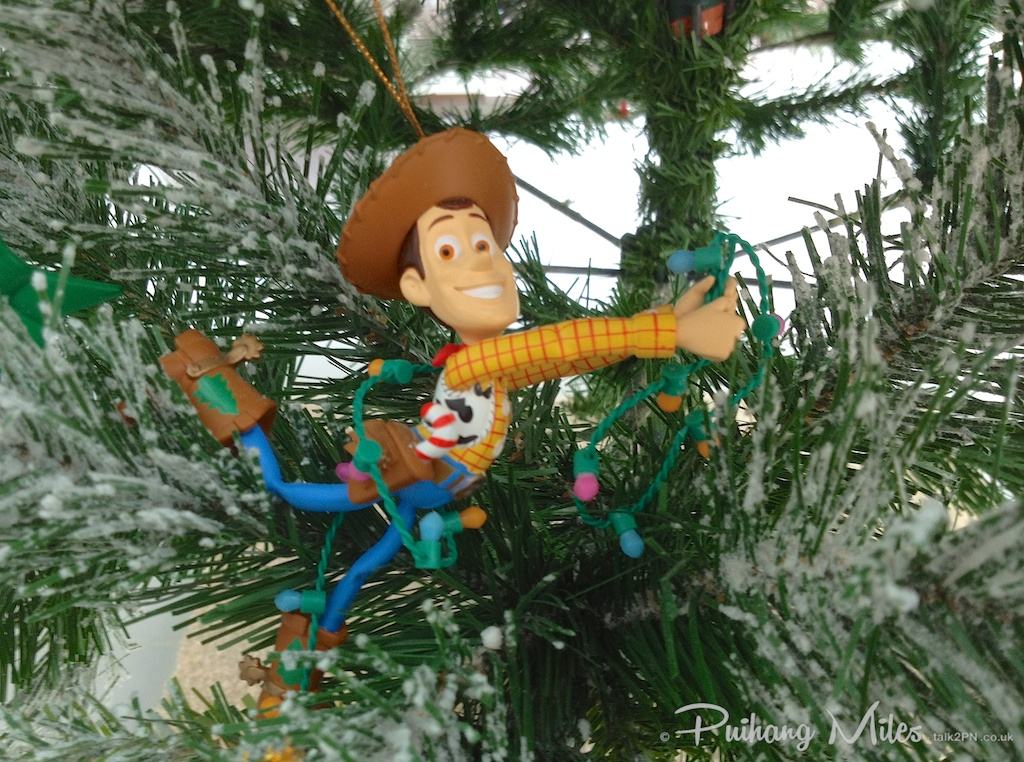 Grolier Disney Ornaments Woody from Toy Story