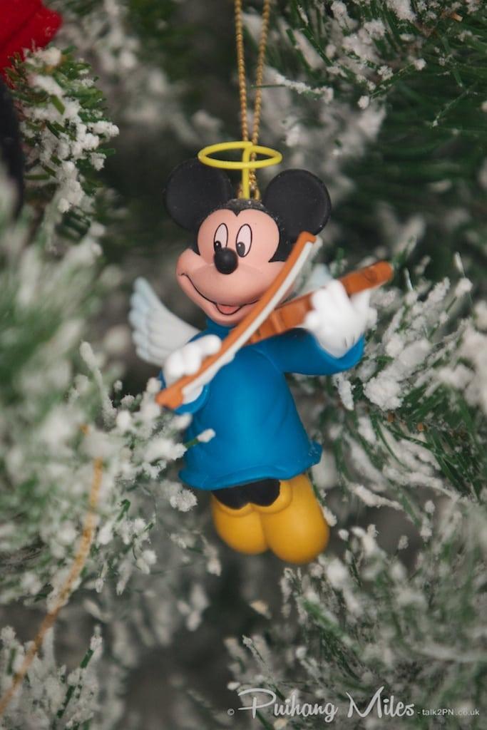 Grolier Disney Christmas Angel Mickey