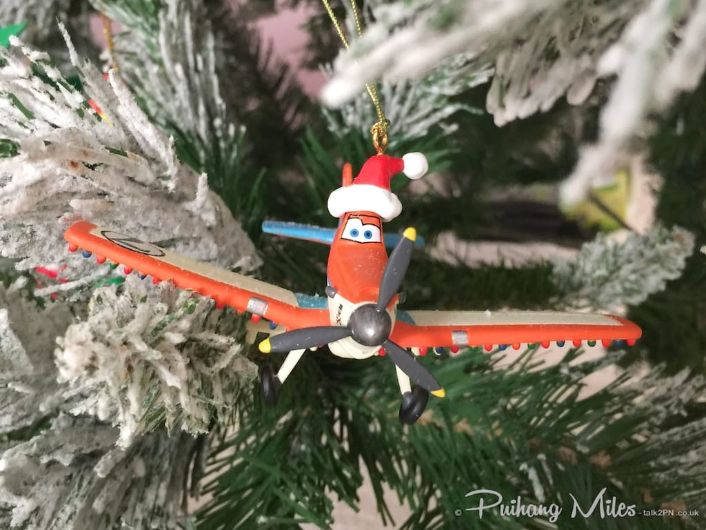 Dusty christmas ornament from Disney's Planes