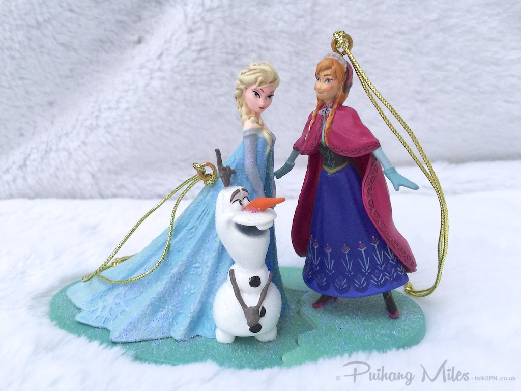 Elsa, Anna and Olaf from Disney's Frozen