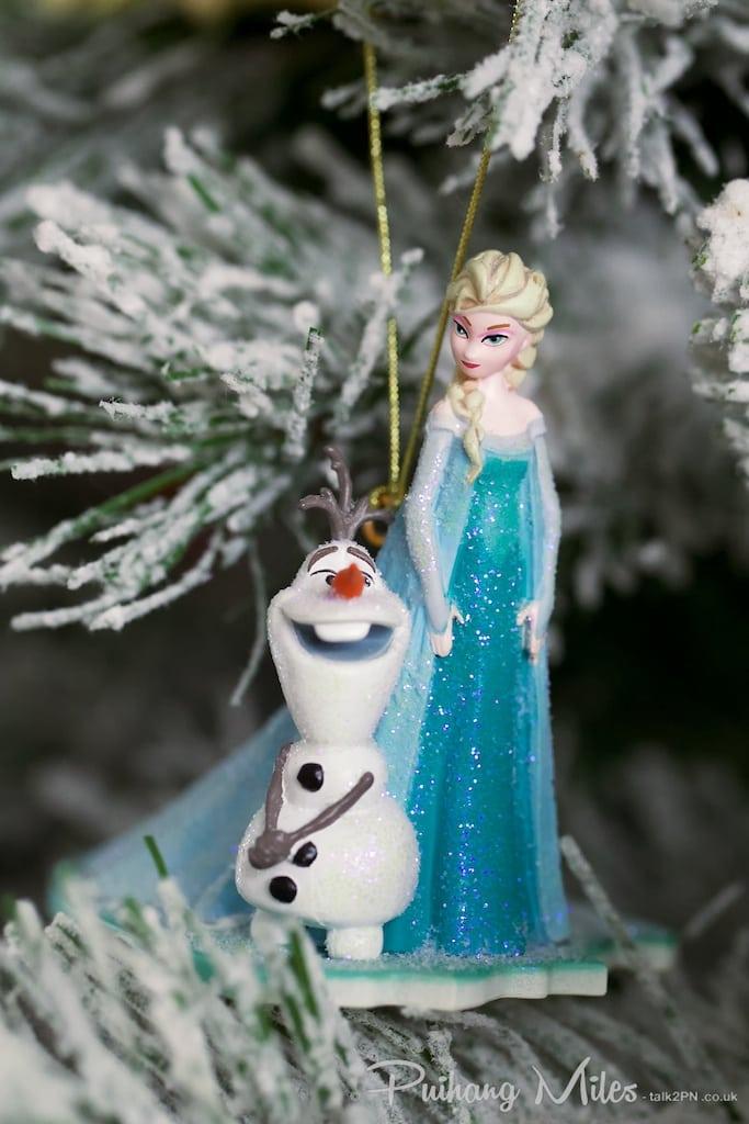 Elsa & Olaf from Disney's Frozen