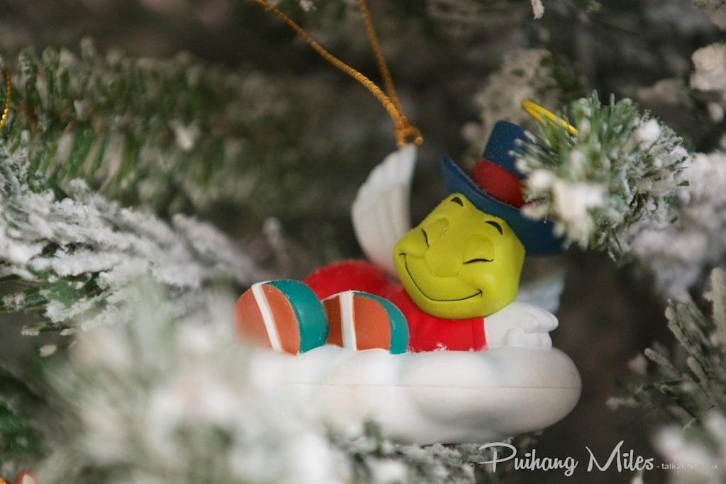 Grolier Disney Ormament Angel Jiminy Cricket