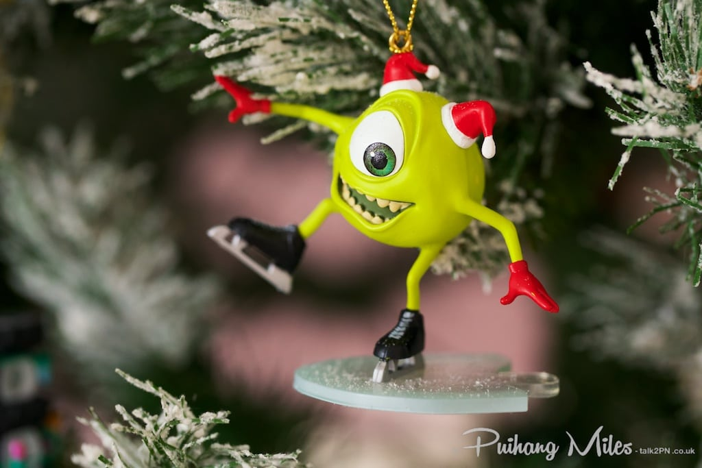 Grolier Disney Ornaments Mike from Monsters Inc