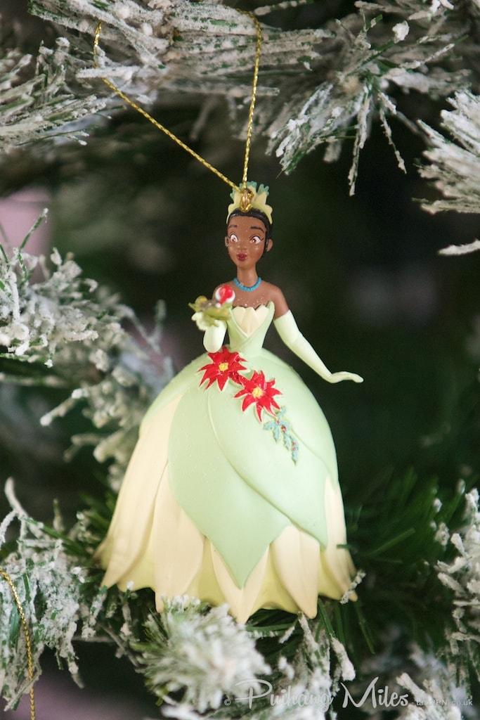 Disney's Princess Tiana from The Princess & the Frog christmas ornament