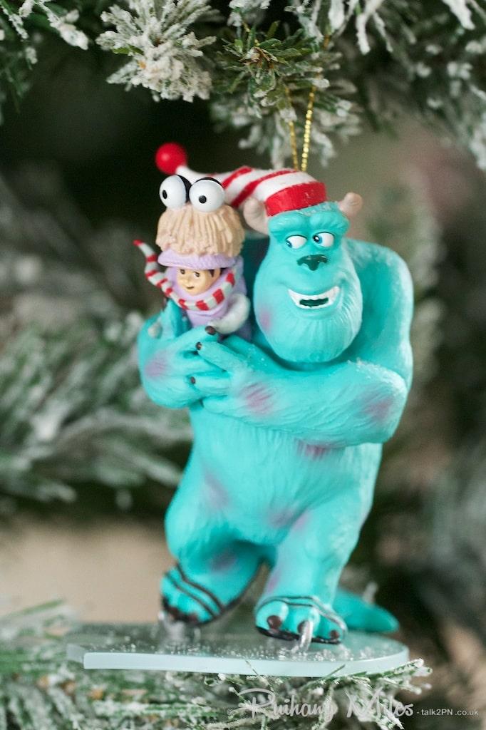 Disney's Sully & Boo Grolier Christmas Ornament