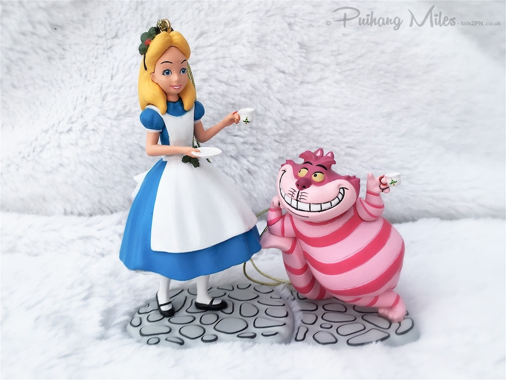 Alice and Cheshire Cat from Alice in Wonderland