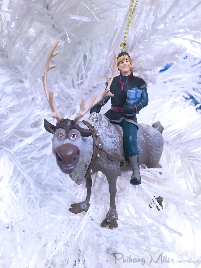 Kristoff and Sven from Frozen